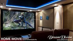 This is a really cool little cinema. This pictures shows that it does not necessarily need a huge place to build a very enjoyable cinema at home. It needs some good products and the expertise of a good professional, such as Home Movie in Budapest, Hungary.  #homecinema #hometheater #Budapest