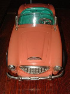 1962 Austin-Healey Barbie Car.  I still have this.