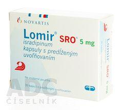 Lomir SRO 5mg (isradipin)