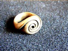 Stunning sterling silver infinity ring-Silver 925 infinity ring-Infinity statement ring-Unusual jewelry-Artisan jewelry-Greek art by ArchipelagosBreeze on Etsy