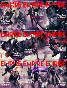 A nova edição da revista Empire traz nove versões diferentes de capa com personagens do filme X-Men: Apocalipse.As imagens formam um grande cartaz com os mutantes combatendo o vilão Apocalipse e seus Quatro Cavaleiros.Confira as capas e uma montagem com essas imagens.Fonte das imagens: ...