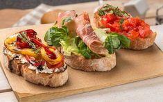 Итальянская закуска — брускетта. 25 лучших рецептов вкусной брускетты.