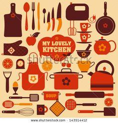 Ideia para conjugação de cores. - http://image.shutterstock.com/display_pic_with_logo/1332151/143514412/stock-vector-kitchen-set-icon-143514412.jpg