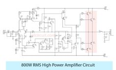 This is high power amplifier RMS Output by using Power Supply, and the final transistor is using and Speaker Amplifier, Bluetooth Speakers, Electronic Circuit, Circuits, Layout, Pink, Audio Amplifier, Tecnologia, Cards