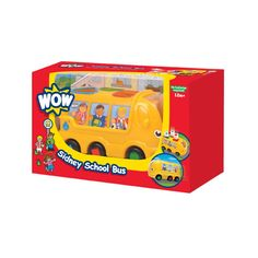 Buy Sidney School Bus and have some shape-sorting fun whilst on the move. His Push & Go motor means he's never late for the school bell! First Birthday Gifts, First Birthdays, I Have A Secret, Toy Chest, Playroom, Storage Chest, Childhood, Toys, School