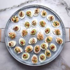 Deviled Eggs 4 Ways Devilled Eggs Recipe Best, Deviled Eggs Recipe, Healthy Deviled Eggs, Avocado Deviled Eggs, Appetizers For Party, Appetizer Recipes, Easy Thanksgiving Appetizers, Beach Appetizers, Superbowl Party Food Ideas