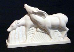 Art Deco Lemanceau Deer Ceramic