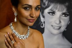 #Lollobrigida's #pearl #earrings set new auction record, http://www.style-tips.com/en/news/archives/42488