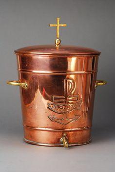 Holy Water vessel, German, around 1900 or earlier : Lot 5519
