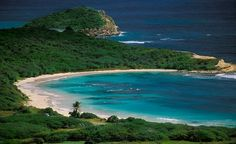 Half Moon Bay in Antigua, The Caribbean. This is where I went for my honeymoon. Hope to go back some day!