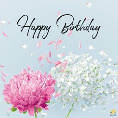 A happy birthday image with vintage flowers you can use to wish your mom on her special day. If it's your mother's birthday and you are feeling at a loss for words, fret not, for we have a great deal of original birthday quotes for you to use. Happy Birthday Wishes For Her, Happy Birthday Art, Birthday Wishes Messages, Birthday Blessings, Happy Birthday Pictures, Happy Birthday Greetings, Happy Birthday Vintage, Female Birthday Wishes, Special Birthday Wishes