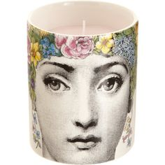 Fornasetti Flora Scented Candle is a perfect hostess gift and when the candle is done it can be used as a chic vase or drinking glass #BECCA #WishLists — Kerry Cole, Style Director