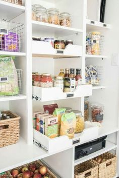 Walk-In Pantry Plans - A Thoughtful Place