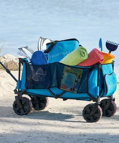 This rugged wagon reduces your number of trips hauling gear, then folds compactly to store in a car or closet.