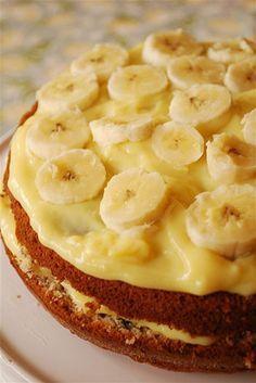 Манник с бананами