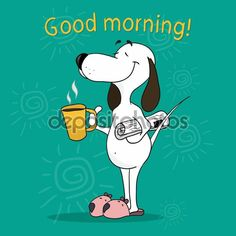 Snoopy Morning