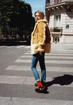 Vogue Paris November 2015 – Malgosia Bela by Angelo Pennetta