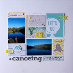 canoeing in whistler by mefun33 at Studio Calico
