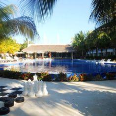 Pool at El Dorado Maroma