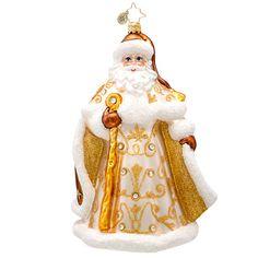 Christopher Radko Golden Tidings Jeweled Santa, 2014, 1017232
