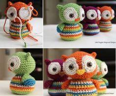 Crochet Baby Owls Free Pattern