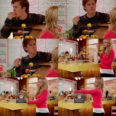 Disney Channel Cloud 9. Kayla and Will. Dove Cameron and Luke Benward