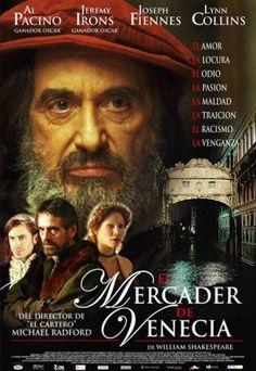 El mercader de Venecia (2004) Reino Unido. Dir: Michael Radford. Drama. Racismo. Relixón. Homosexualidade. S.XVI - DVD CINE 1181