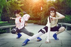 Team 9 ohhhh yesssss neji and tenten this is awesomeeee