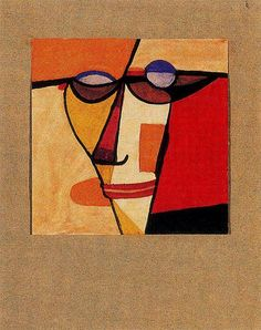 Solar, Xul (1887-1963) - 1919 Face (Private Collection) by RasMarley, via Flickr