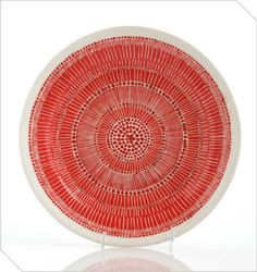 Shop South African Design   Red Graphic Bowl   Meekel
