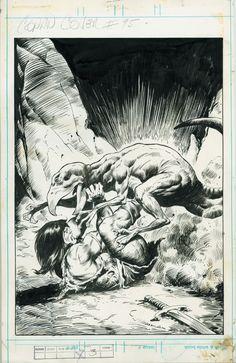 Conan the Barbarian by John Buscema.  #Conan #JohnBuscema