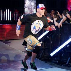 John Cena is back on Raw.