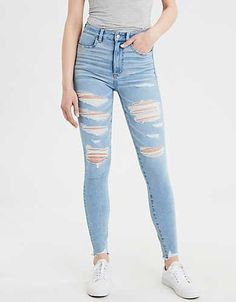 04576a9c0188a 15 Best High waist jeggings images in 2019 | Casual outfits, Casual ...