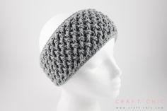 Free Crochet Pattern: Criss Cross Head Wrap {Faux Button Closure}   Craft Chic