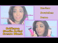 Oriflame Studio Artist Cream Blush - Review & How to Apply Demo