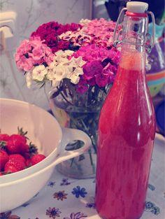 Königlicher Erdbeerlimes