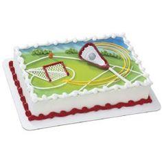 Lacrosse Party Supplies, Extreme Lacrosse Cake Decoration Kits