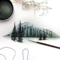 Watercolorist: @rosies.sketchbook #waterblog #акварель #aquarelle #drawing #art #artist #artwork #painting #illustration #watercolor #aquarela