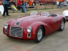 Ferrari 125 S (Chassis - 2006 Pebble Beach Concours d'Elegance) High Resolution Image - Today Pin Ferrari F1, Ferrari Scuderia, Automobile, Pebble Beach Concours, Roadster, Cute Cars, Amazing Cars, Courses, Fast Cars