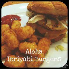 Reality Housewife: Aloha Teriyaki Burgers