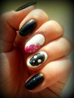 #nails #sugarscull #roses