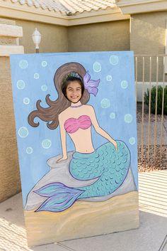 Mermaid Photo Booth