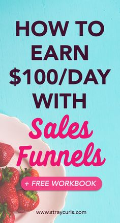 Looking for an easy way to implement sales funnels in your Blog? I got you covered. Read this post to find out the easy sales funnel strategy I use in my blog to make a consistent full time income each month. This post breaks down sales funnels for beginners. Includes a free downloadable workbook! Click to download! #salesfunnel #marketing #businesstips #freedownload