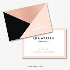 Premade Business Card Design Print Ready by NorthSailDesign Student Business Cards, Business Card Maker, Cool Business Cards, Custom Business Cards, Business Card Design Inspiration, Business Design, Logo Inspiration, Design Poster, Print Design