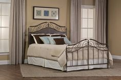 Hillsdale Furniture 1220BQR Ravella Bed Set - Queen - with Rails
