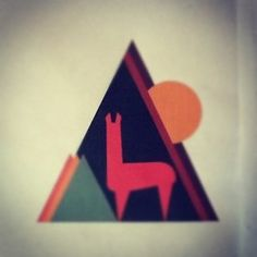Llama. geometric