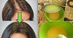Ceci va certainement surprendre votre dermatologue ! Appliquez ce remède et vos cheveux pousseront de manière complètement folle!