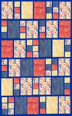 Modern quilt I think I have fabrics that would work for this quilt too