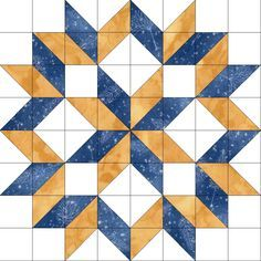 This quilt kit features NO triangles for easy piecing and uses the creative and nice looking carpenter's wheel quilt block pattern. Fabrics in this kit are trees scattered on a mottled blue background