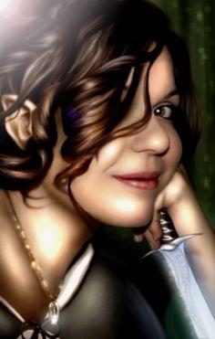 Hobbit (Halfling) Female by ~HivanGrosny on deviantART